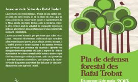 Pla de defensa forestal